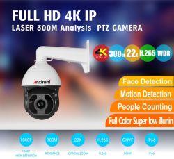 4K 22X Starlight Análise Iluminação atravessar a linha de detecção de movimento da câmara de Detecção de Rosto