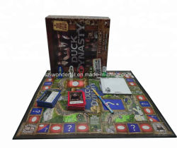 カスタム教育ボードゲームのフラッシュカードのゲームの印刷