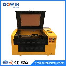 Grabadora Láser de Alta Velocidad de Escritorio 40W 3040 CO2 Máquina de Corte y Grabado Láser para Sello de Madera de Goma