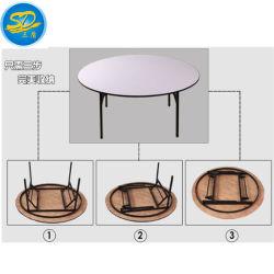 De fabriek verkoopt E1 direct Rang 18mm het Dineren van het Hotel van pvc van het Triplex Gebruik Vouwend Lijst