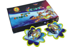 Magic Fire Spinners Fireworks au sol des roues (K1127)
