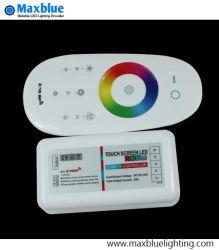 LEDのストリップのためのDC12-24V 2.4Gのタッチ画面LED RGBWのコントローラ