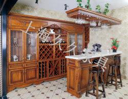 Euro Classic en bois massif armoire à vin