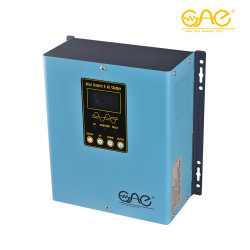 800W 12V CC à 110V ou 220V AC chargeur solaire intégré de l'onduleur solaire hybride