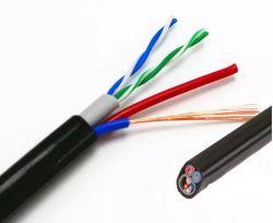 Fabricant Meilleur Prix Livraison rapide câble réseau UTP Cat5e avec câble d'alimentation