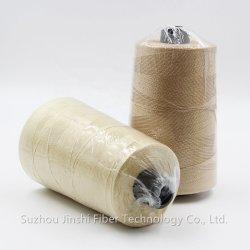 Niedriger Preis 301 Aramid Weißes Garn /Anti-Heat Meta Aramid Gesponnen Garn zum Weben