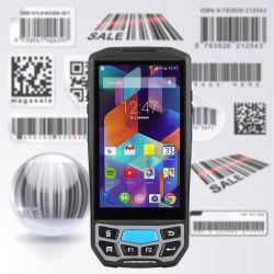 NFC Ручной терминал 4G Android КПК Android телефон с помощью сканера штрих-кодов