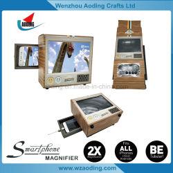 熱い販売の最上質のボール紙TVの携帯電話スクリーンの拡大鏡