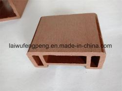 De houten Plastic Samengestelde Leuning van de Materialen WPC van de Omheining