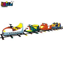 Het binnen OpenluchtPretpark berijdt Stuk speelgoed Kiddie van de Trein van Jonge geitjes het Elektrische Mini (KL6027)