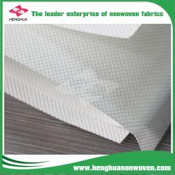 Matérias-primas Nonwoven Fabric Nonwoven hidrofílico de produto da fralda