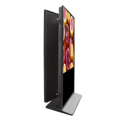 32''43''50''55'Schermo A Due Lati Pavimento In Piedi Android Windows Touch Screen Digital Kiosk Display