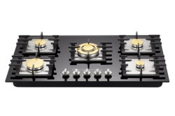 Temperred 유리 5 가열기 900mm 가스 스토브