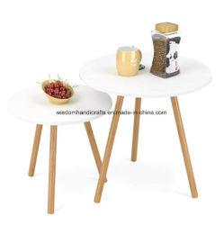 Le bambou Les jambes et le répartiteur principal MDF Haut Définit une table