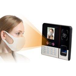 Serrure de porte de la caméra de reconnaissance faciale biométrique WiFi d'empreintes digitales de fréquentation de temps