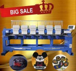 Cabeça Sequin Holiauma 8 Comercial máquina de bordado computador barato preço livre designs de bordar1508h