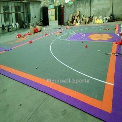 De Opgeschorte Sporten die van de koppeling pp Tegel voor het Hof van de Voetbal/van het Basketbal vloeren