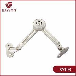 Soulevez le couvercle de la porte de friction de l'armoire à l'appui séjour