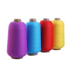 Alto filato elastico popolare del poliestere tinto Hank per la tessitura
