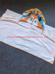 OEM индивидуальные печать хлопок ткань из микроволокна малыша прикрытия Бич ванной колпачковая полотенца