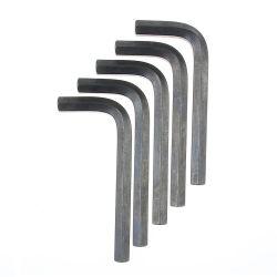 Kohlenstoffstahl-Hex Allen-Schlüssel, schwarz