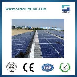 太陽錫の屋根のパネルのラッキングシステム太陽土台のアクセサリ