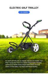 عربة جولف ذات حامل متحرك محترف حقيبة جولف قابلة للطي تروللى رياضات خارجية متعددة الوظائف Range Supplies Foldable Push Pull Golf Cart