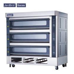 Forno Deck 3 bandejas de 12 Forno Catering Forno de fábrica de alimentos caseiros forno da oficina