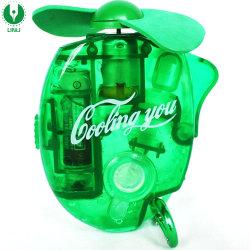 La promoción de bolsillo Mini Ventilador de pulverización de agua de vapor de agua al aire libre ventiladores