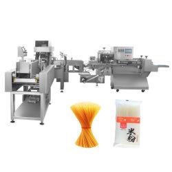 La Pasta Vermicelli espaguetis Italia Embalaje Pesaje automático de alimentos máquina de envasado de ajuste de flujo