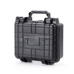 """10.5 """" casse di pistola dure della cassa di strumento della custodia in plastica di Waterproof&Shockproof con gomma piuma"""