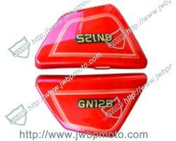 Pièces de moto jeu du capot latéral en plastique Gn125 pour Suzuki du corps