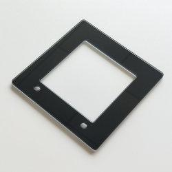 Customized 86*86mm Interruptor elétrico de vidro, placa de vidro temperado da estrutura do interruptor de reóstato de Interruptor táctil inteligente