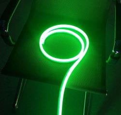 El neón de silicona de color verde de la luz de lámina flexible de 10mm-25mm neón de corte flexible utilizado para firmar/ de la Junta de Anuncios