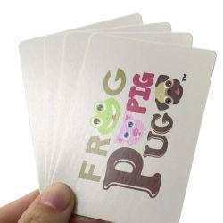 La impresión de tarjeta de juego para niños juegos de cartas de papel de entretenimiento para niños el aprendizaje personalizado de tarjetas Flash Cards Wholesale
