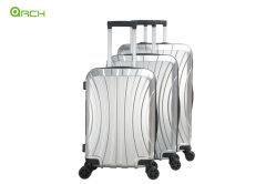 트롤리 수화물 3PCS는 다중 기능적인 여행 가방 ABS+PC 가늠자 손잡이 방적공 바퀴를 놓았다