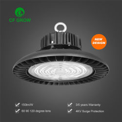 Dlc ETL Ce светодиодный индикатор Hibay 100W 150 Вт 200W 240 ВТ IP65 UFO светодиод высокой отсек легкой промышленности