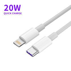 Мобильный телефон кабель передачи данных Premium 1 м 3 фута 18 Вт 20 Вт PD Быстрое зарядное устройство кабель для iPhone Lightning USB типа C до Lightning Кабель для iPhone 12 PRO Max