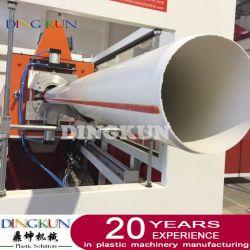 كبل بلاستيكي مزدوج/مزدوج PVC/UPVC/CPVC/كابل كهرباء CPVC/خرطوم متعدد الطبقات ماكينة القطع/القطع/الطرد/الطرد لإمداد المياه
