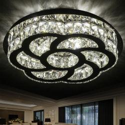 Светодиод современных хрустальной люстрой Чжуншань освещения на заводе Crystal потолочный светильник для внутреннего освещения
