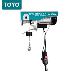 Мини-электрический кабель подъемника мостового крана поднимите W/проводной пульт дистанционного управления