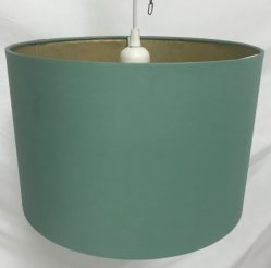 Commerce de gros abat-jour Tc extérieur avec du papier de cuivre métallique à l'intérieur pour lampe de table avec des non ELC