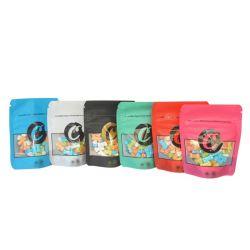 3,5G 7g el olor de la ventana la prueba de pararse Cookie bolsas de Mylar con cierre de cremallera Edibles Chocolate Thc Cbd Weed el aceite de cannabis bolsos