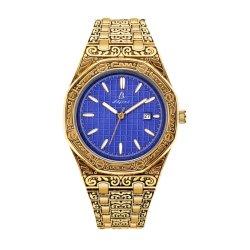 Los hombres de acero inoxidable de Regalo de nuevo diseño del reloj de pulsera (JY-AL154)