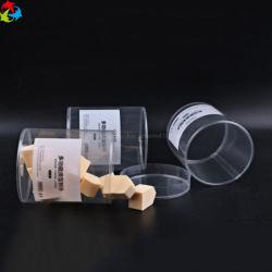 De duidelijke Transparante Buis van pvc van de Douane Plastic Verpakkende met Deksel