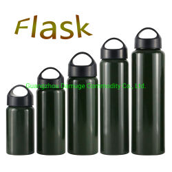 Custom рекламных подарков двойные стенки с Infuser Flaish воды для приготовления чая и бутылка воды коктейль автоклавы вибрационного сита