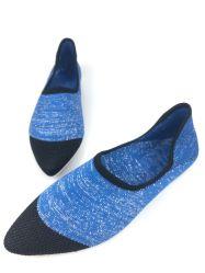 Les femmes sur le soft de patinage Mesdames Femme Chaussures chaussettes en tricot Flats Fashion
