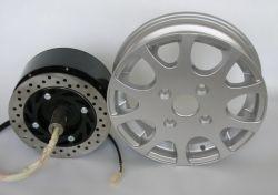 35kg 150V 1200tr/min des aimants permanents CC sans balai électrique du moteur de moyeu pour les nouveaux véhicules de l'énergie voiture
