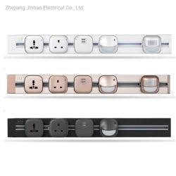 P4 유형 유연한 USB 힘 전기 사무실 부엌 플러그 소켓