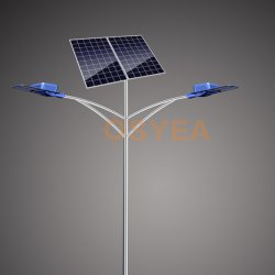 Osyea-SL 60W de puissance élevée de 9 mètres d'éclairage LED lampe solaire résidentiel